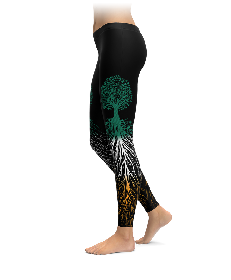 a00013458353e Ireland Flag Roots Leggings – Brave New Look