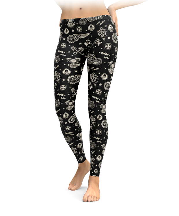 Biker Icon Leggings