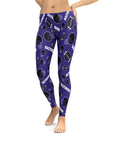 Baltimore Football Icons Leggings