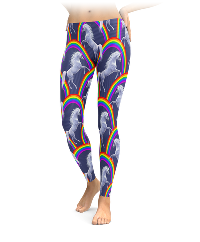 Rainbow Unicorns Leggings