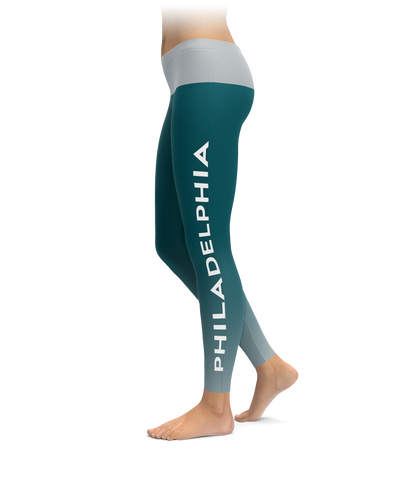 Philadelphia Gradient City Football Leggings