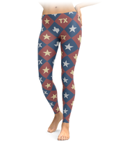 Checkered Diamond Texas Leggings