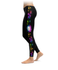 Baseball Colorful Paint Splatter Leggings
