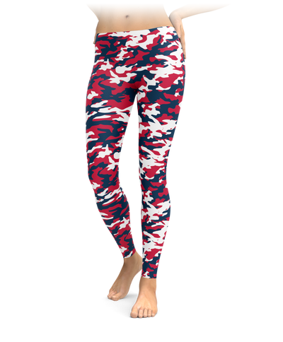Boston Camo Leggings