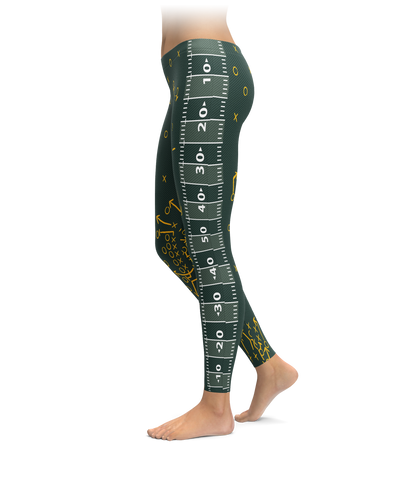 Green Bay Field Leggings