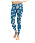 Detroit Football Icons Leggings