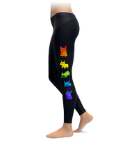 Rainbow French Bulldog Leggings