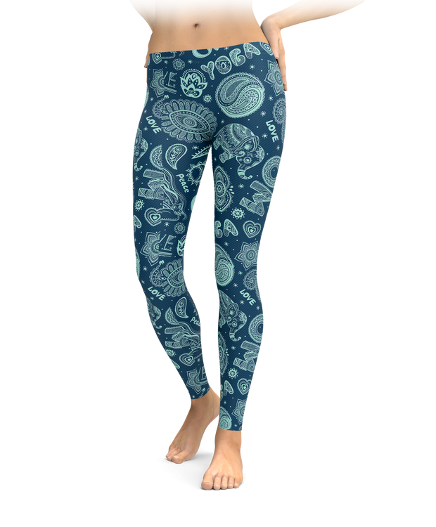 Buddhist Dream Leggings