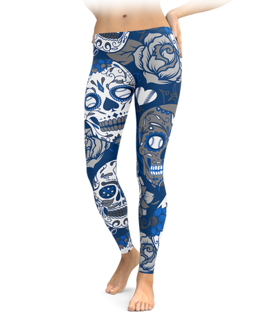 Los Angeles Sugar Skull Leggings