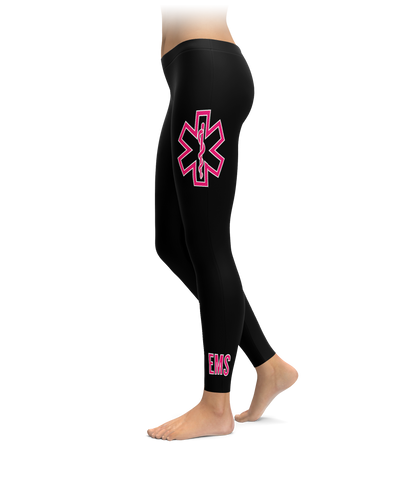 Pink EMS Star of Life Leggings