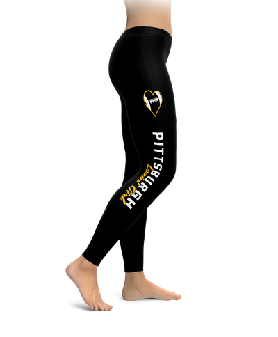 Pittsburgh Football Lovin' Girl Leggings