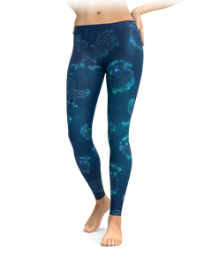 Chicken & Rooster Constellation Leggings