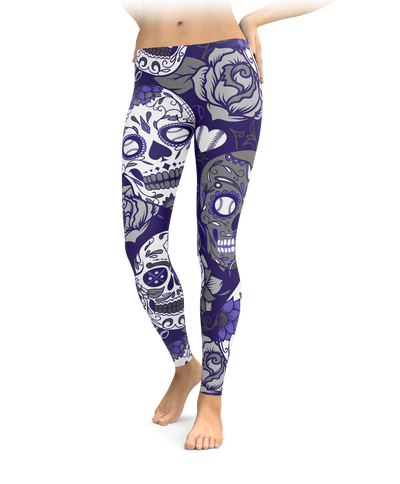 Colorado Sugar Skull Leggings