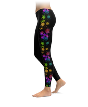 Colorful Paint Splat Leggings
