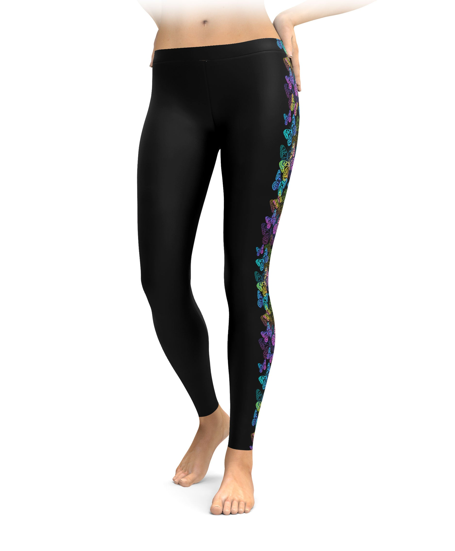 Casual style goes effortless with the women's Dream jeggings from Simply Styled. The mid-rise waist sits just above the hips and extends to a straight leg that tapers at the ankle. The mid-rise waist sits just above the hips and extends to a straight leg that tapers at the ankle.