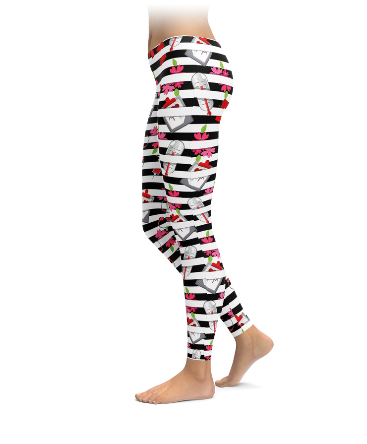 Nurse Stripes Leggings