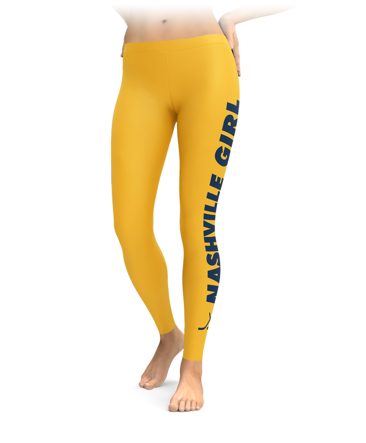 Nashville Girl Hockey Leggings