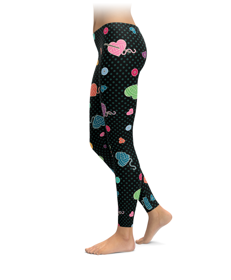 Yarn Hearts Leggings