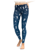 Virgo Zodiac Sign Leggings