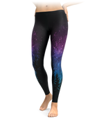 Galactic Forest Leggings