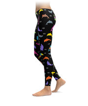 Colorful Dolphin Leggings