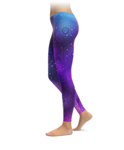 Space Mandala Leggings