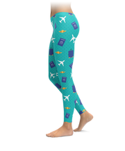 Travel Icon Leggings