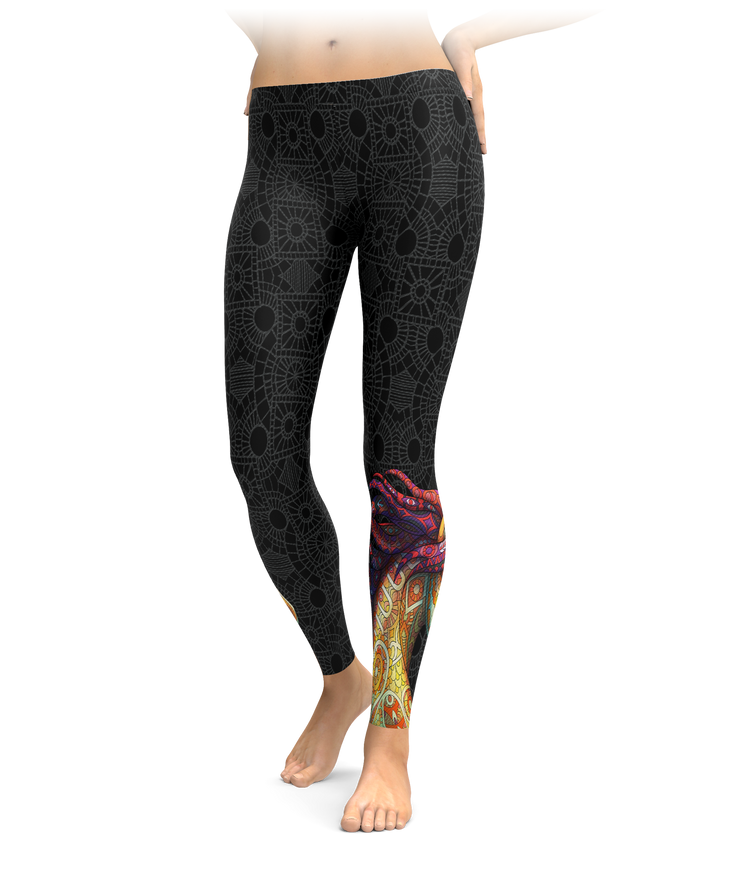 Horse Zentangle Leggings