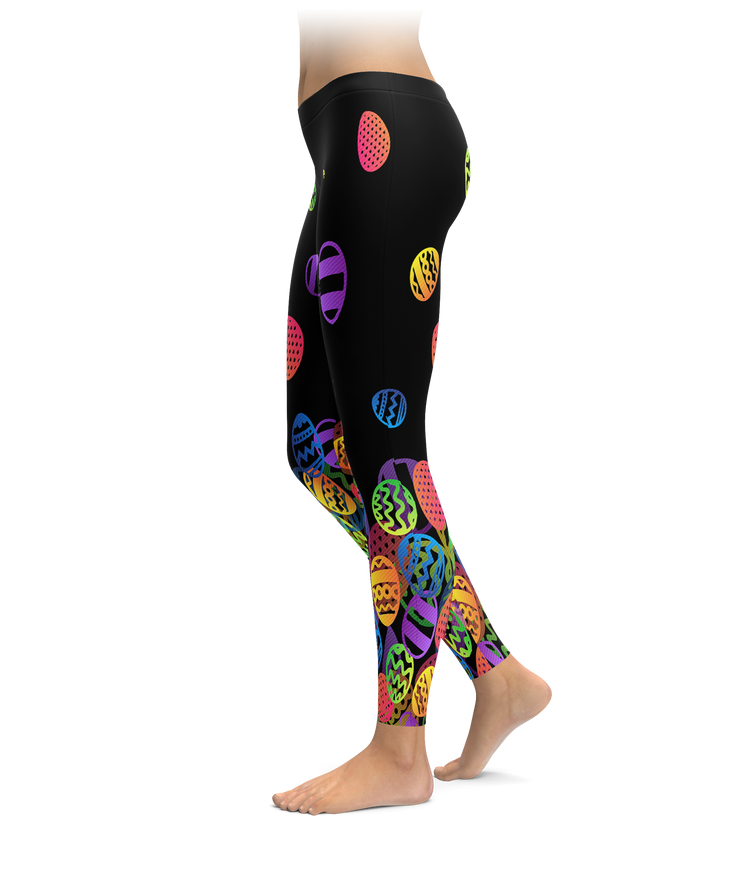 Falling Easter Egg Leggings
