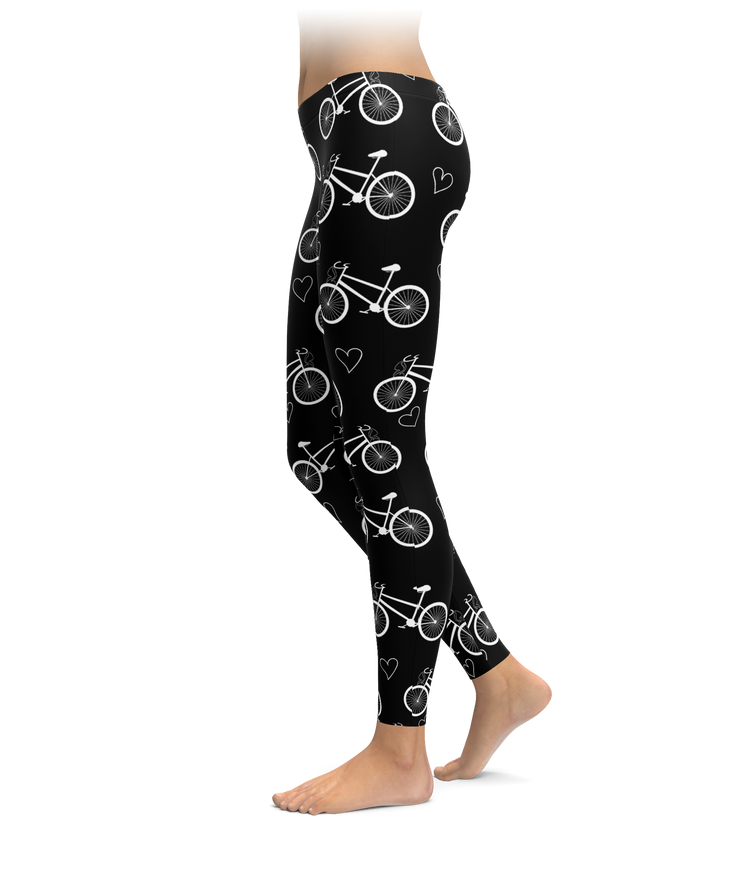 Bikes 'N' Hearts Leggings
