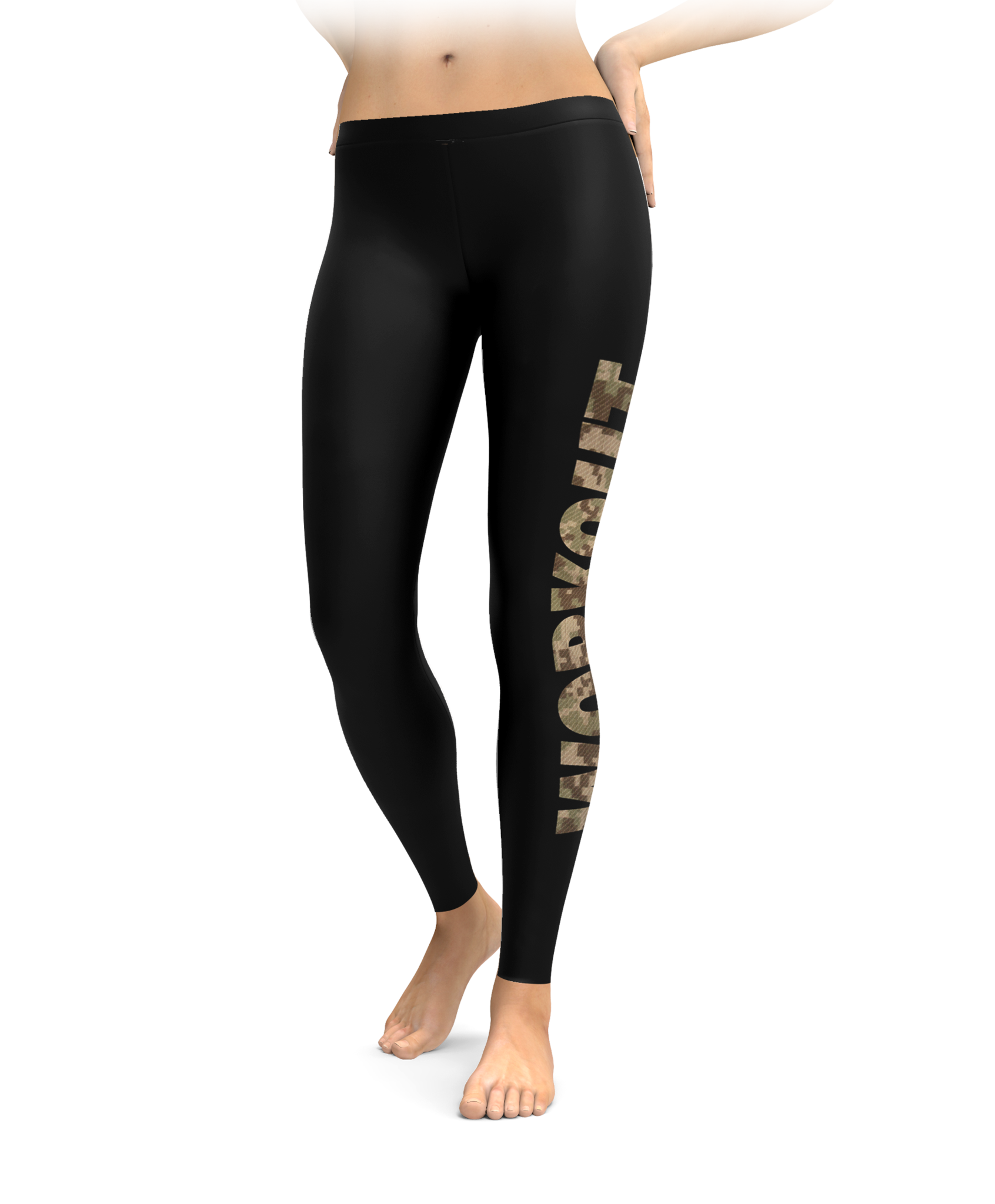 Camo WORKOUT Leggings