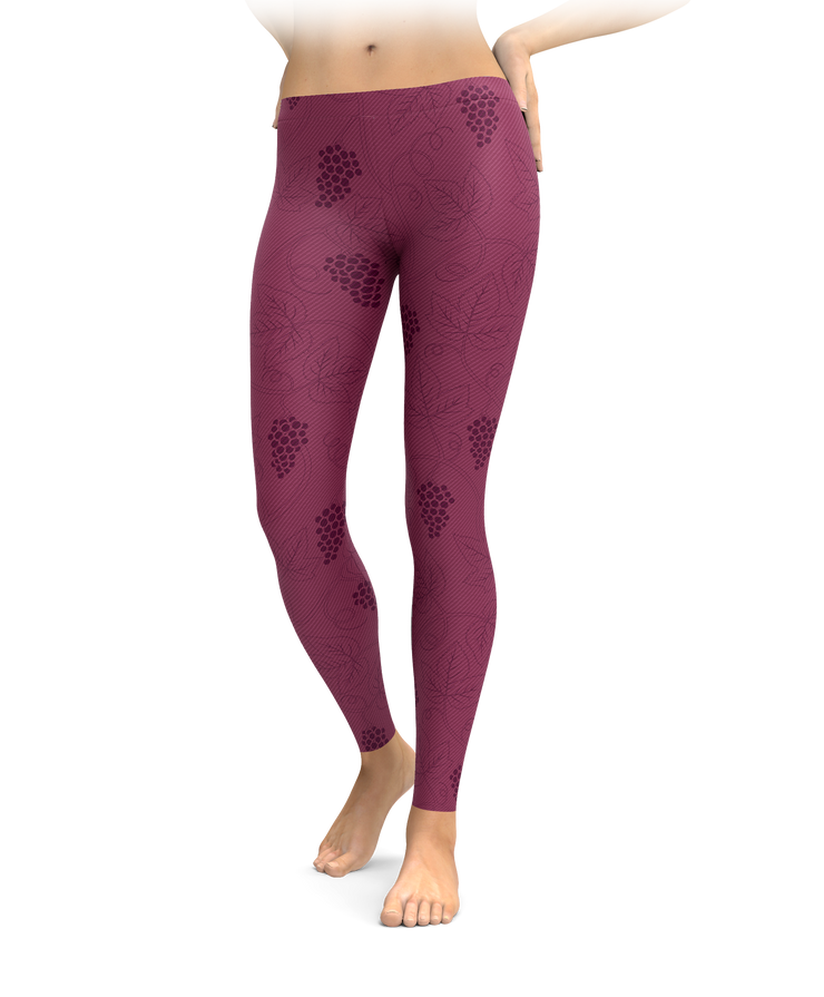 Grape Vine Leggings