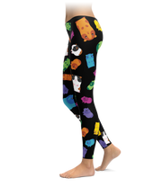 Multicolored Guinea Pig Leggings