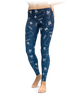 Gemini Zodiac Sign Leggings