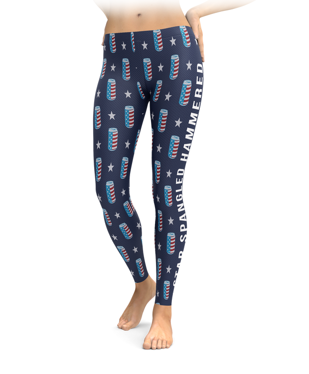 Star Spangled Hammered Leggings