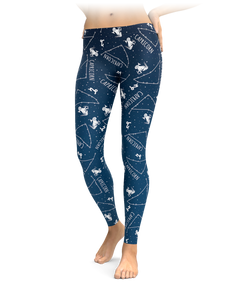 Capricorn Zodiac Sign Leggings