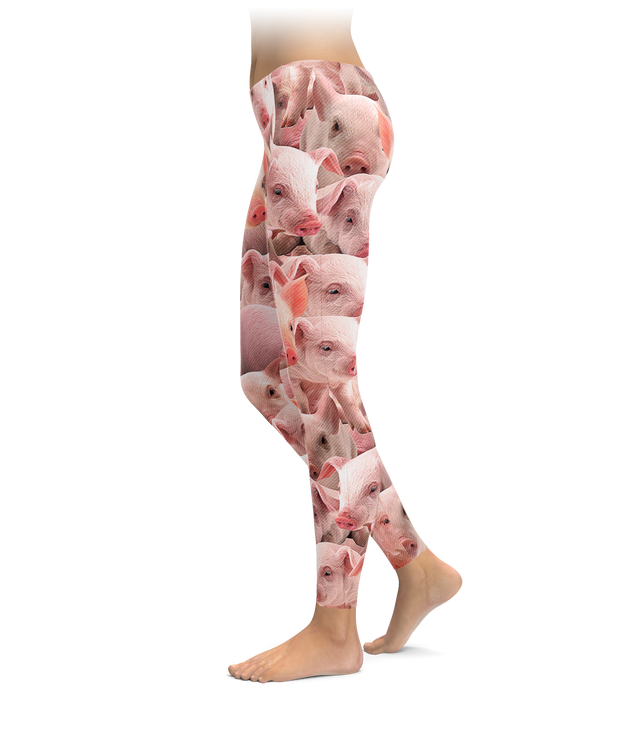 Pigs on Pigs on Pigs Leggings