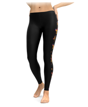 Butterflies And Hearts Leggings