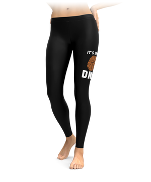 Basketball - It's In My DNA Leggings