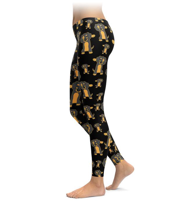 Dabbin' Doxie Leggings