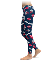 New England Football Icons Leggings