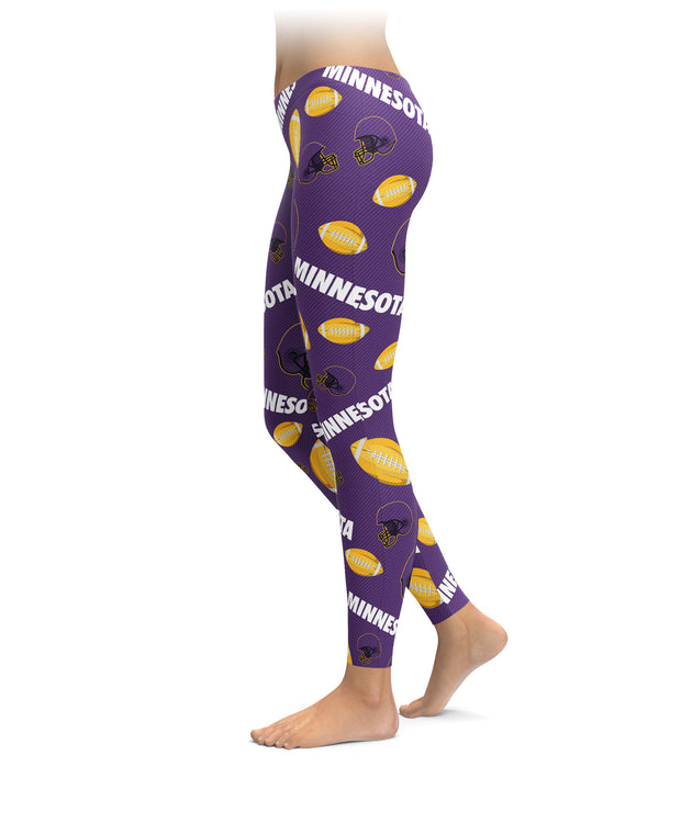 Minnesota Football Icons Leggings