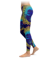 Powerful Buddha Leggings