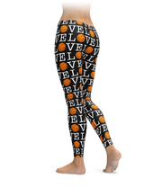 Basketball Love Pattern Leggings