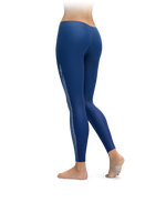 Blue Jet Plane Travel Leggings