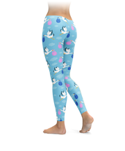 Stork Baby Delivery Leggings