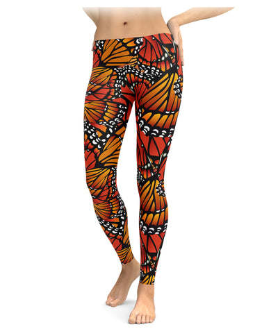 Monarch Butterfly Leggings