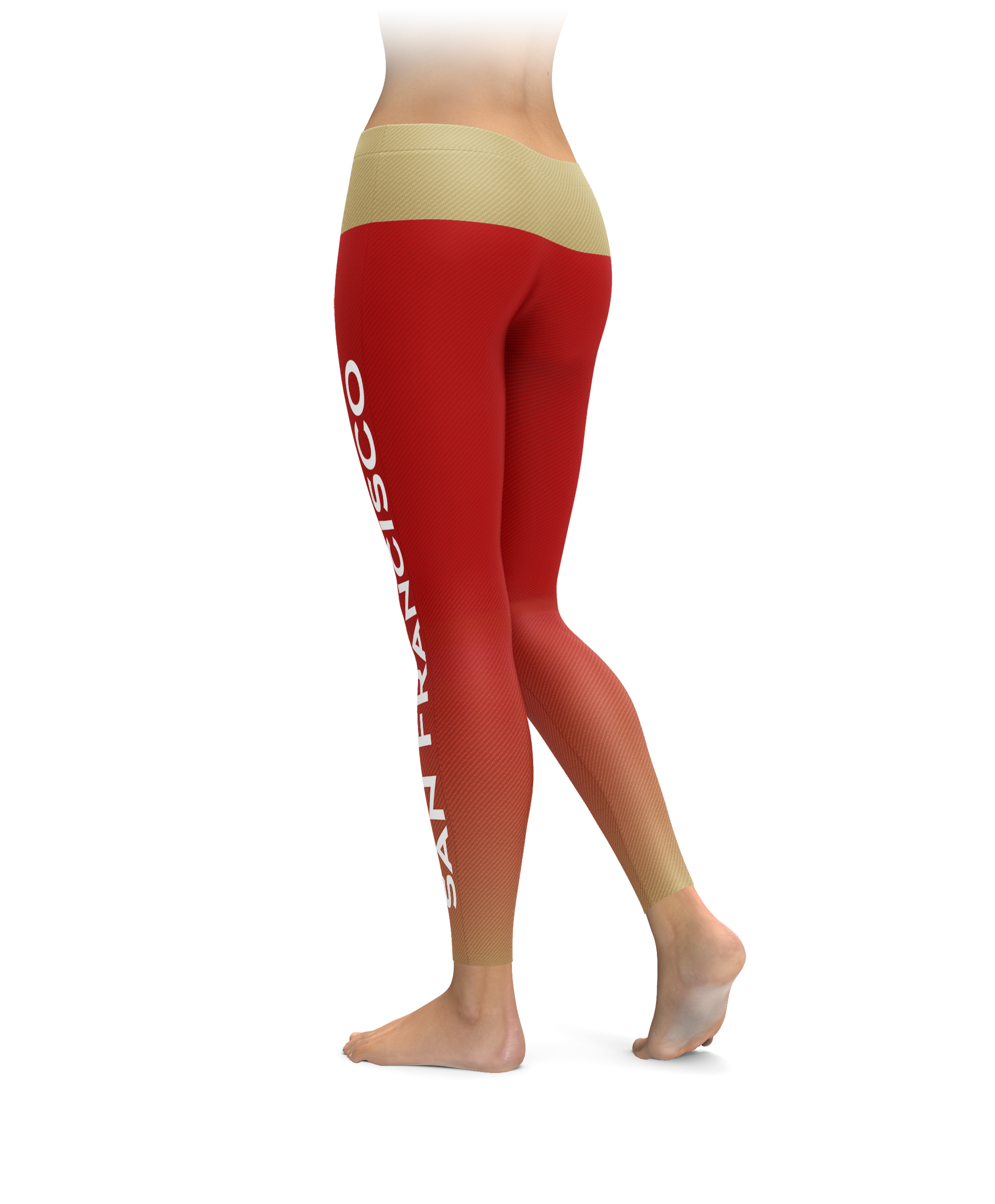 San Francisco Gradient City Football Leggings