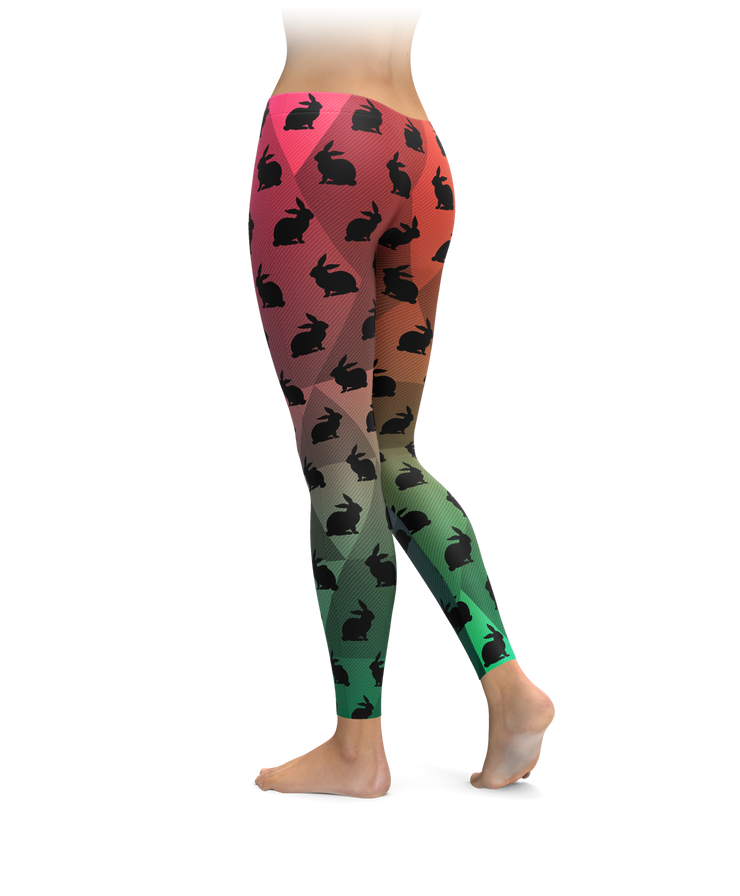 Springtime Bunnies Leggings