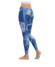 Feel Safe At Night, Sleep With A Cop (Just Not Mine) Leggings